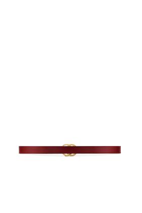 GG Marmont Slim Leather Belt