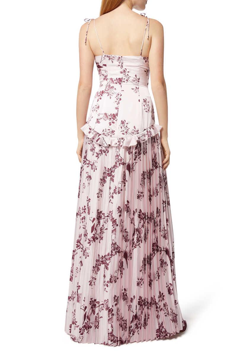 Belle Floral-Print Gown image number 3