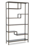 Filmore Metallic Bookcase