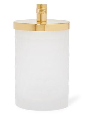 Honeycomb Cotton Jar