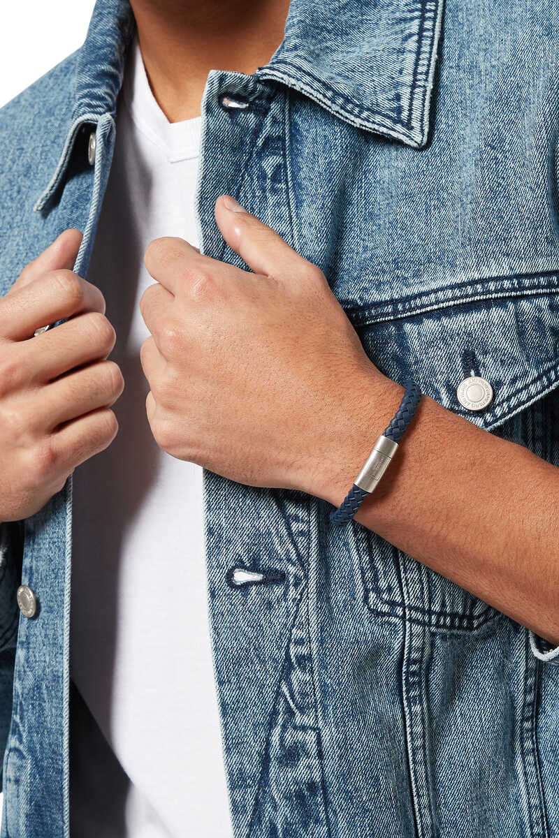 Gomma Intrecciato Rubber Bracelet image number 2