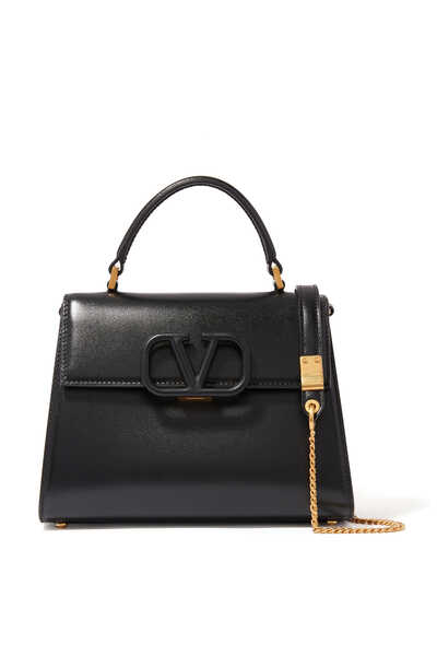 Valentino Garavani Small VSLING Leather Top Handle Bag