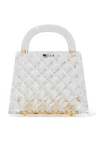 Eva Diamond Cut Acrylic Bag
