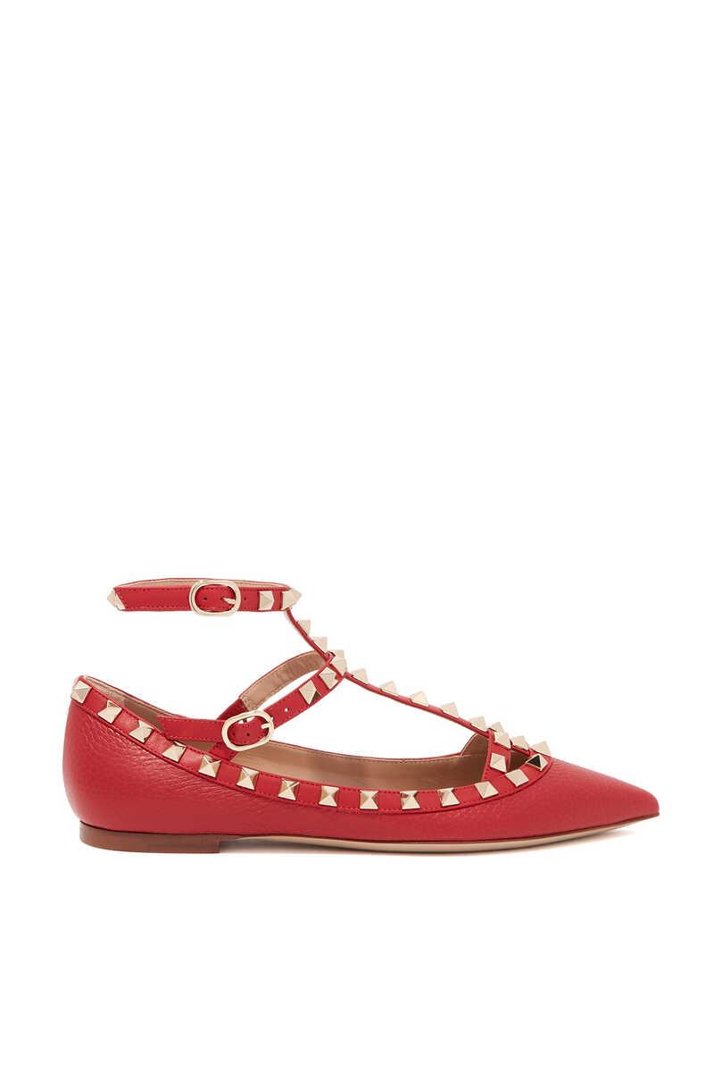Valentino Garavani Rockstud Leather Sandals image number 1