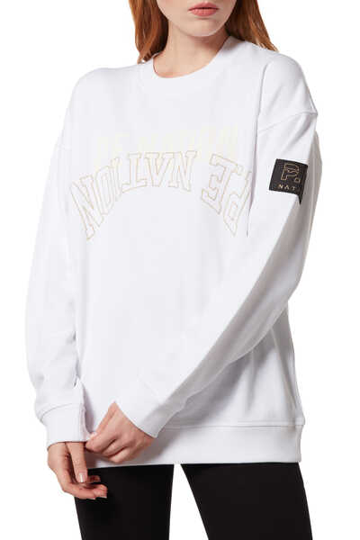 Sidelined Logo Sweater