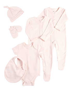 Cotton Bodysuits, Set of Six