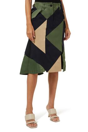 Hank Willis Thomas / Solid Mix Skirt