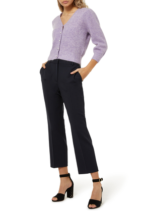 Pili Cropped Wool Pants