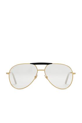 Aviator Metal Glasses