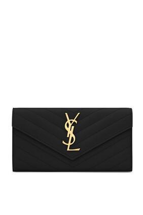 Logo Flap Wallet