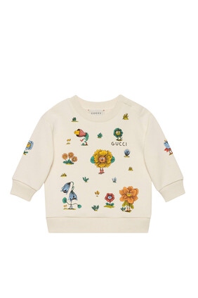 Freya Hartas Print Sweatshirt