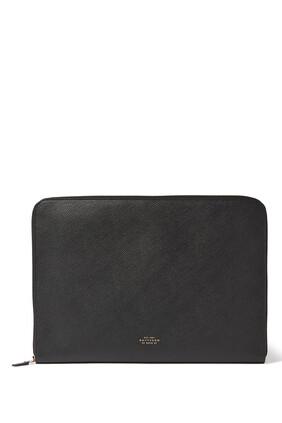 Panama Leather Laptop Case