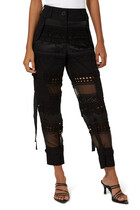 Embroidery Lace Pants