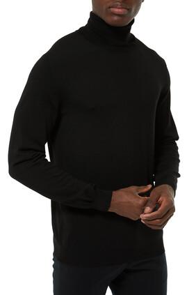 Turtleneck Slim-Fit Sweater