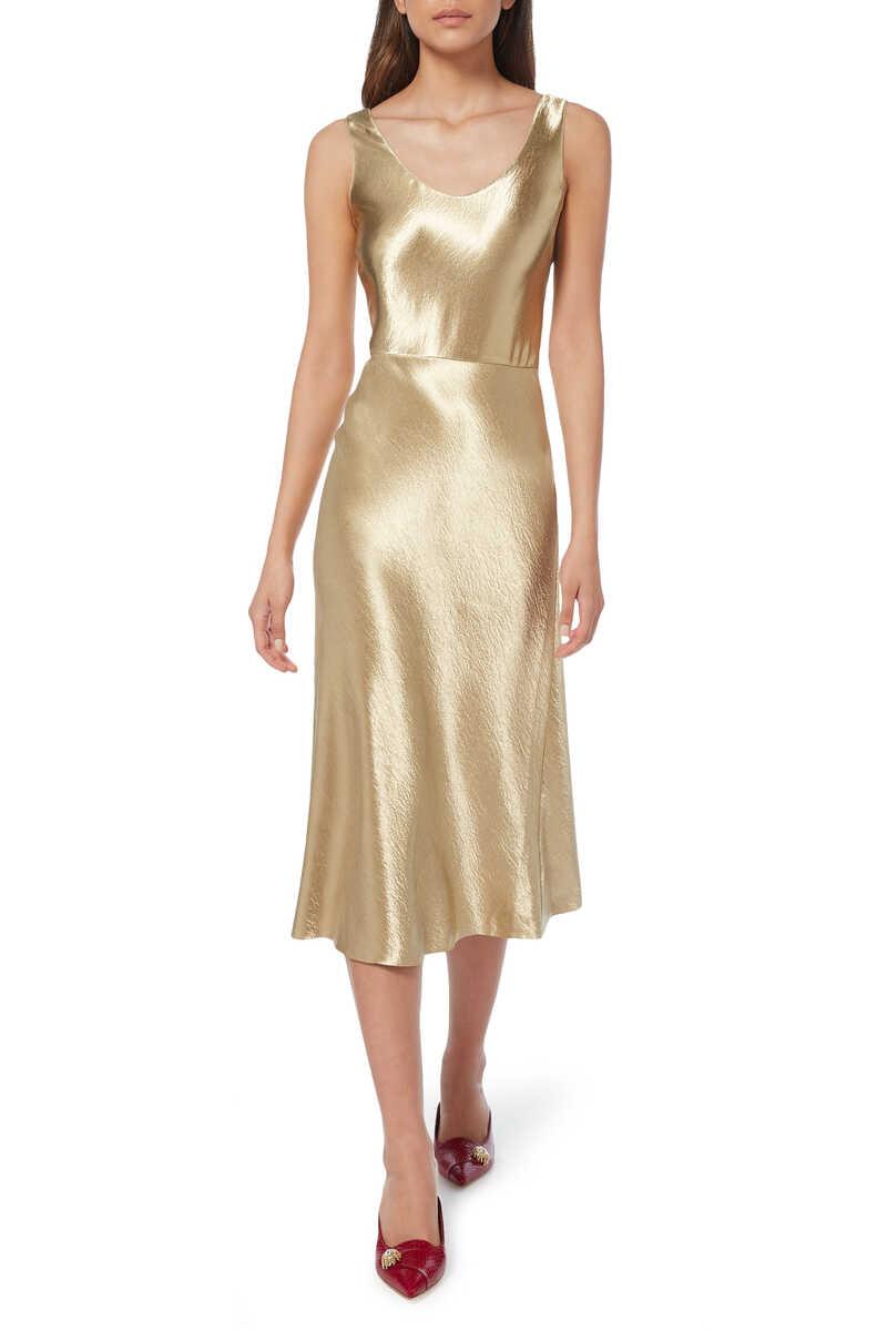 Metallic Tank Dress image number 1