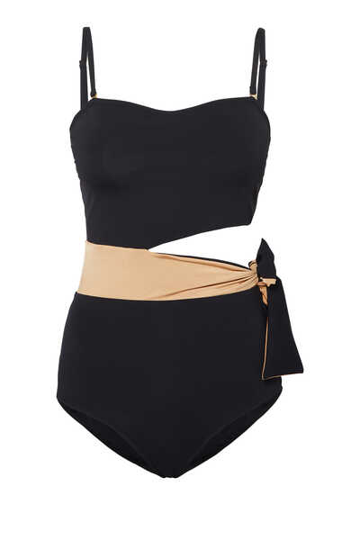 Elsa Asymmetric One-Piece Swimsuit