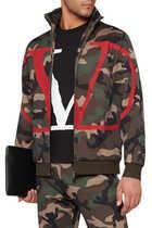Logo Camouflage Sweatshirt