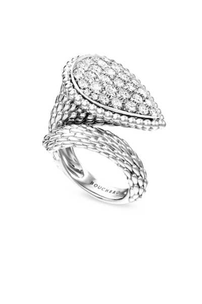 Serpent Bohème Diamond Large Ring