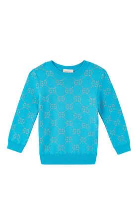 GG Lamé Sweater