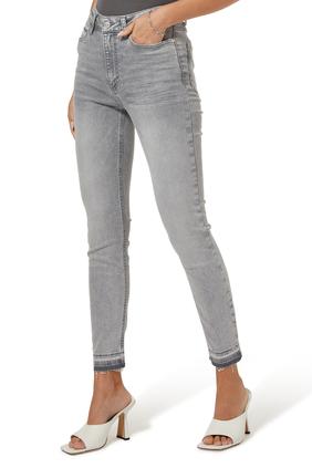 Hoxton Raw Hem Denim Jeans