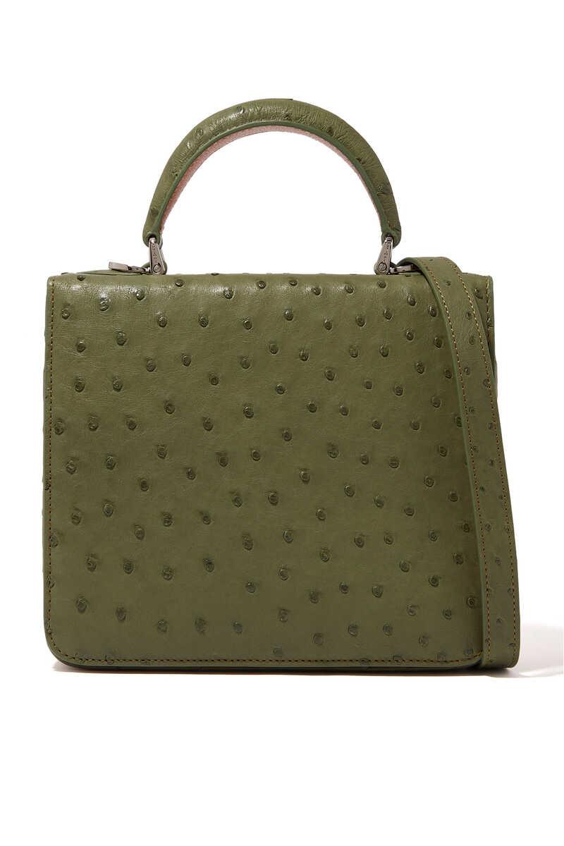 Square F Top Handle Bag image number 1