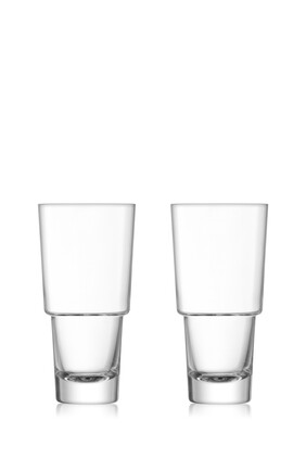 Mixologist Cocktail Highball Set of Two
