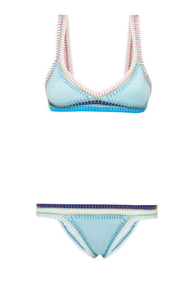 Pacific Shore Triangle Bikini Top