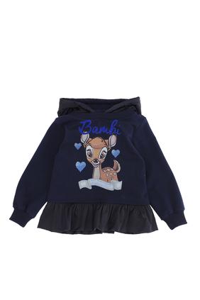 Bambi Ruffle Sweatshirt