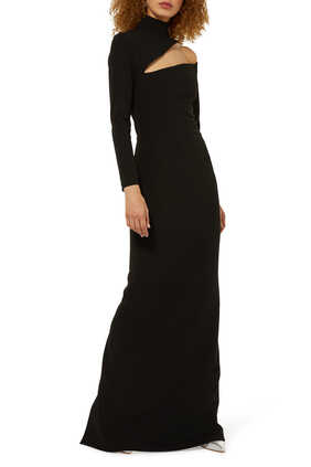 Ares Cut-Out Maxi Dress