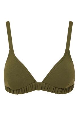 Pear Triangle Bikini Top