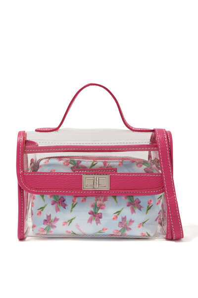 Fancy Print PVC Handbag