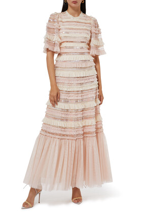 Nancy Frill Tulle Gown