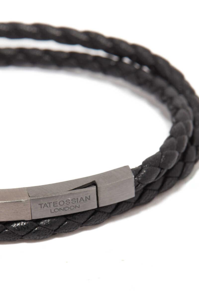 Mezzo Noir Silver Bracelet image number 4