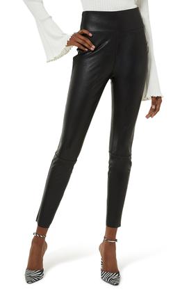 Sheena Leather Look Leggings