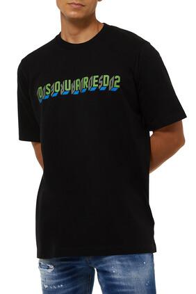 D2 Mirror Slouch Cotton T-Shirt