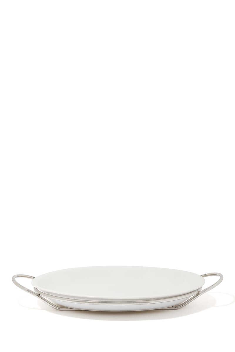 Oval Binario Dish image number 1