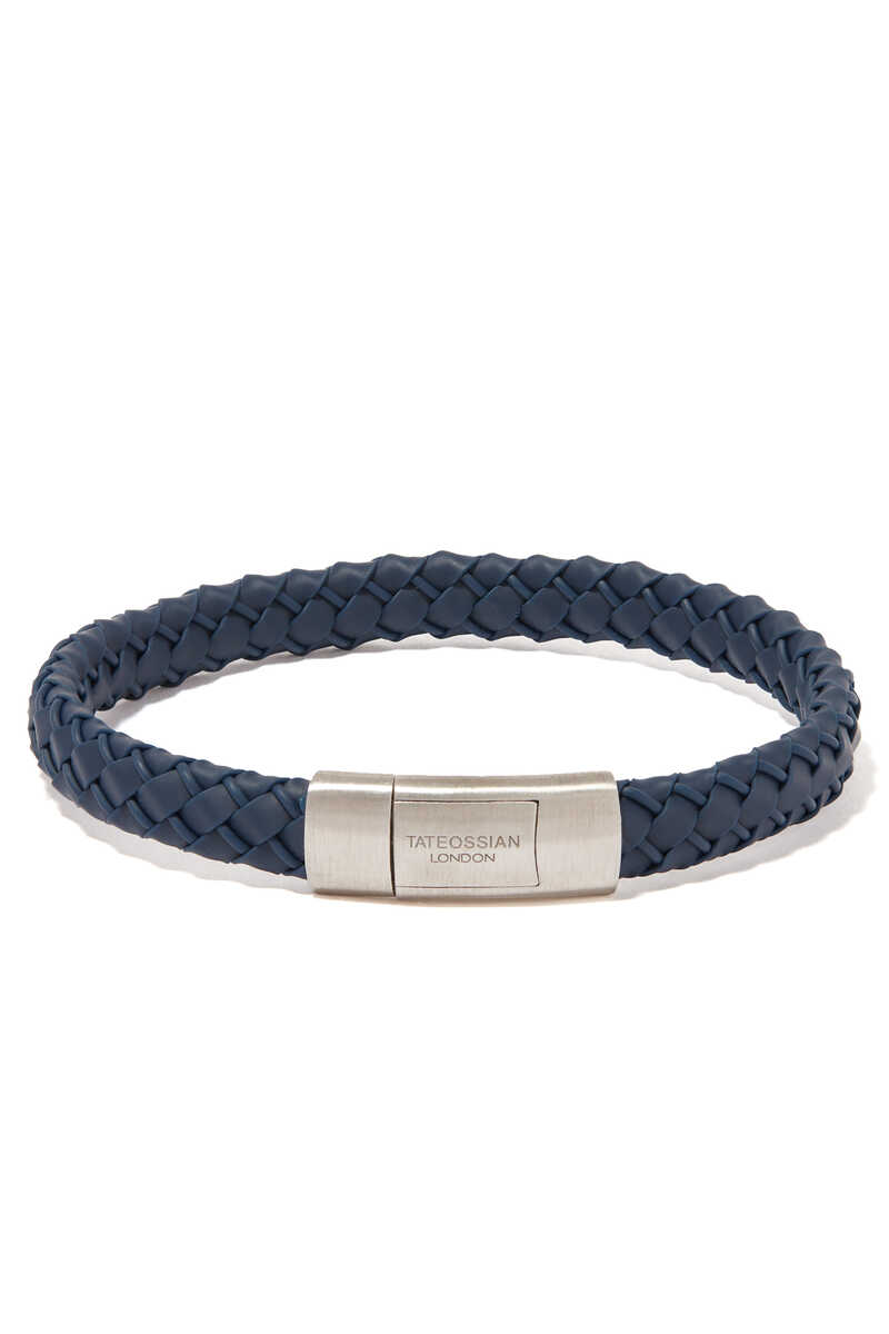 Gomma Intrecciato Rubber Bracelet image number 1