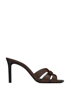 Tribute Leather Mule Sandals
