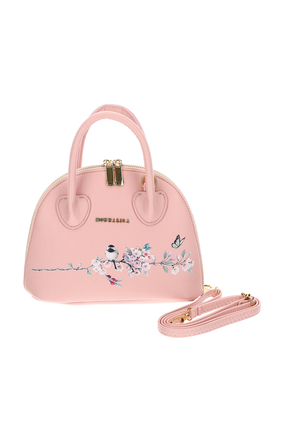 Floral Eco-Leather Bag
