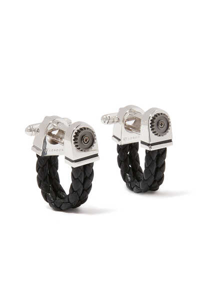 Cable Knot Cufflinks