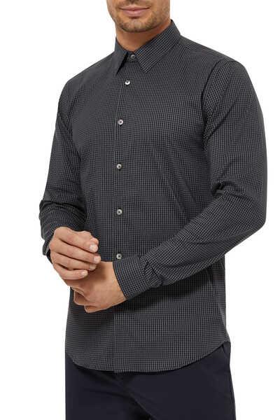 Irving Grid Linen Shirt