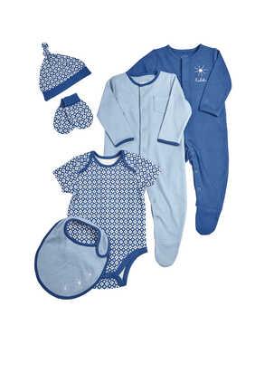 Cotton Bodysuits, Set of Six