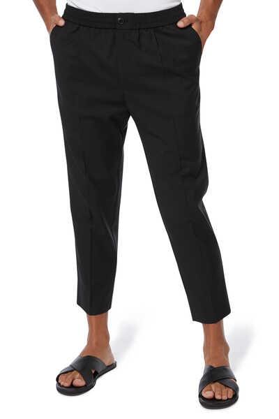 Wool Cropped Pants