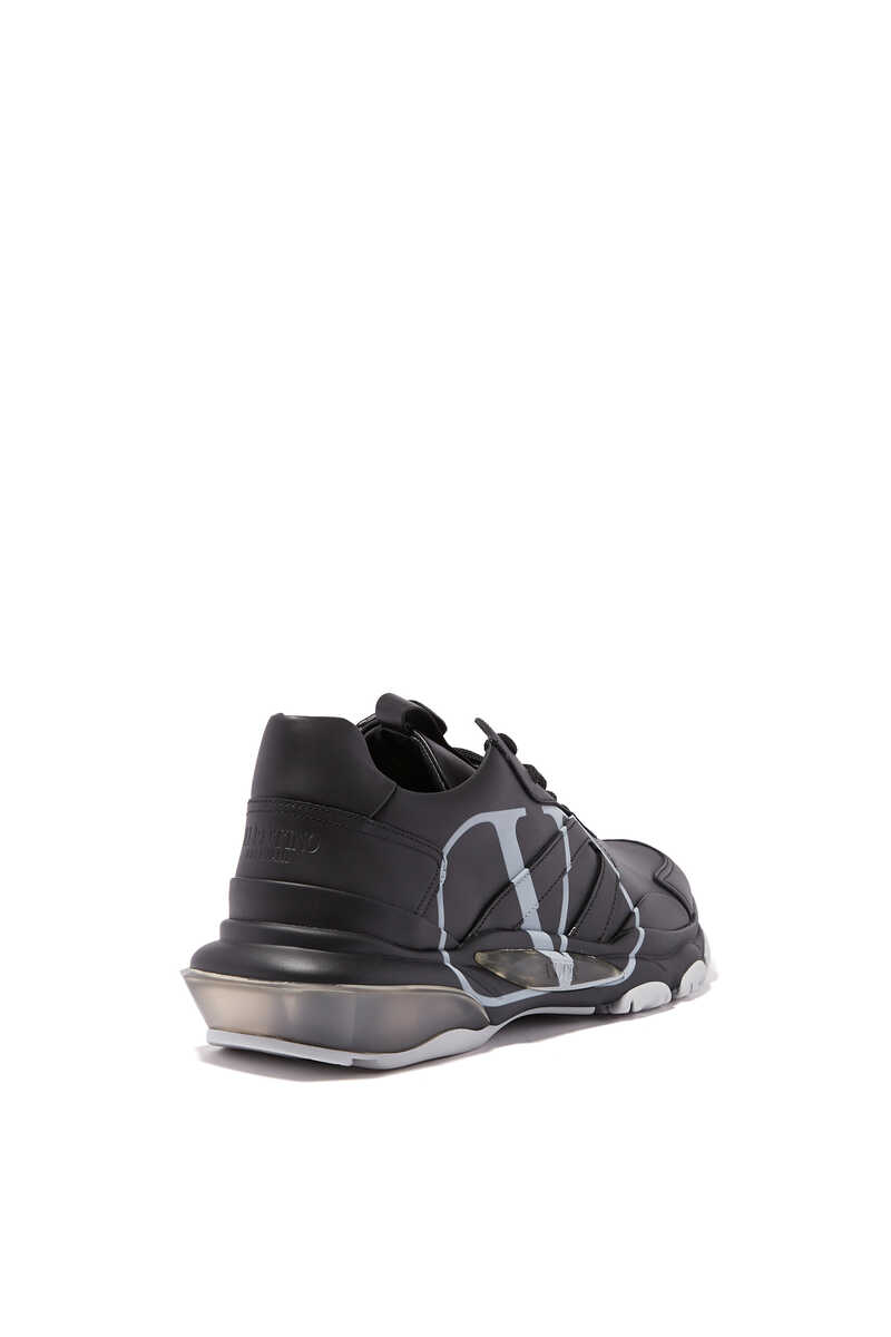Valentino Garavani V-logo Bounce Sneakers image number 3