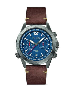 Nomad Leather Watch