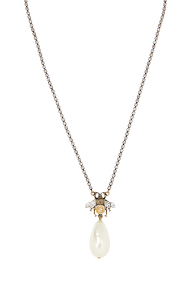 Pearl Bee Necklace