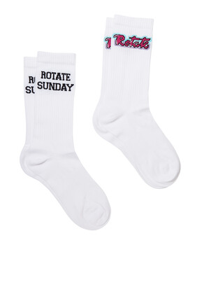 Rotate Socks, Set of Two