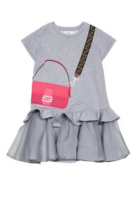 Crossbody Bag Graphic Dress