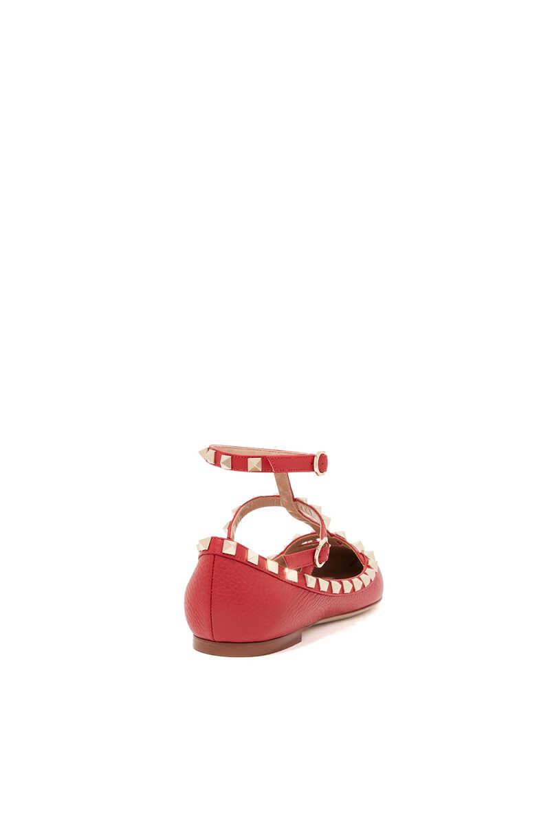 Valentino Garavani Rockstud Leather Sandals image number 3