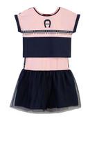 Logo Shirt Dress